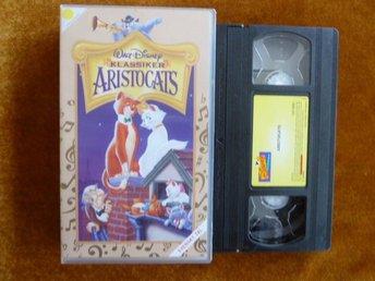 ARISTOCATS, KLASSIKER, VHS, TECKNAD, SVENSKT TAL, FILM - Anderstorp - ARISTOCATS, KLASSIKER, VHS, TECKNAD, SVENSKT TAL, FILM - Anderstorp