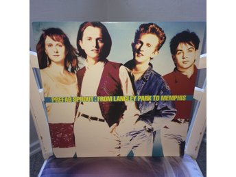 PREFAB SPROUT  FROM LANGLEY PARK TO MEMPHIS  LP-SKIVA