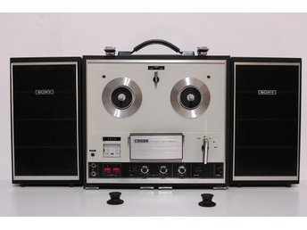 Sony TC-252 Four Track Stereo Reel to Reel Tape Recorder (1971)