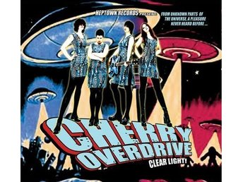 Cherry Overdrive - Clear Light (LP)