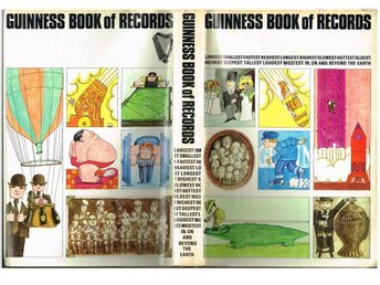 GUINNESS BOOK OF RECORDS 1969 EDITION (Edition 15)