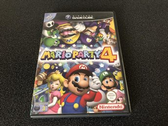 Mario Party 4 - Gamecube - Svensk Version KANONSKICK