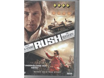 Rush. Actiondrama av Ron Howard