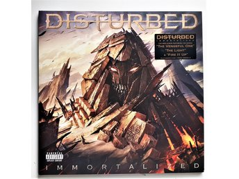 DISTURBED - IMMORTALIZED  , 2X VINYL