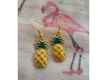 Ananas Örhängen Rockabilly/kawaii/retro/tiki/pinup/pineapple/50´s