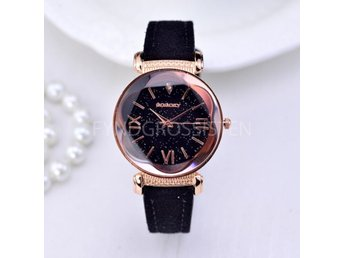 Klocka Dam GOGOEY Luxury Watch Women Svart Fri Frakt Ny