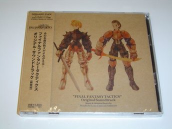 Final Fantasy Tactics Original Soundtrack Musik *NYTT*