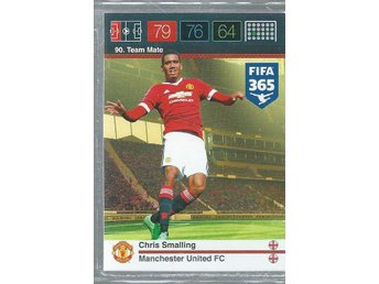 Chris Smalling - Manchester United  - FIFA 365 PANINI