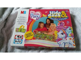 My Little Pony MLP Hide & seek MB spel Komplett