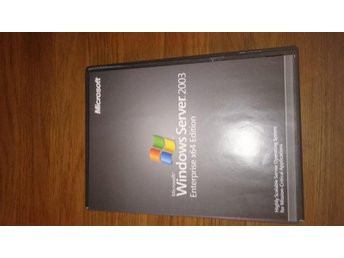Windows server 2003 Enterprise x64 edition - Partille - Windows server 2003 Enterprise x64 edition - Partille