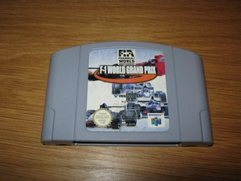 N64/PAL: F-1 World Grand Prix OBS TYSK TEXT! (enbart kassett)