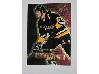 1996-97 Mario Lemieux Power Red Line 271/1082 Fleer Ultra
