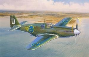 "J26 Early / P51B ""Swedish Mustang"""
