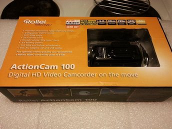 Rollei Actioncam 100 , HD VIDEO, 5megapixel, 20 m vattentät 120¤ vinkel Ny!! - Göteborg - Rollei Actioncam 100 , HD VIDEO, 5megapixel, 20 m vattentät 120¤ vinkel Ny!! - Göteborg