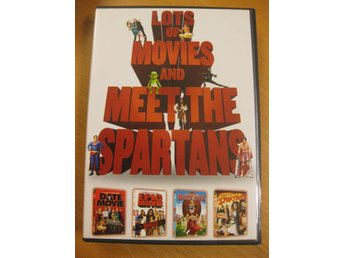 DATE MOVIE + EPIC MOVIE + SPORTS MOVIE + MEET THE SPARTANS - 4 DVD