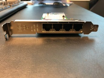 HP NC365T 4-port Ethernet Gigabit Server Adapter
