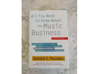 All You Need To Know About The Music Business Donald Passman 8:e uppl