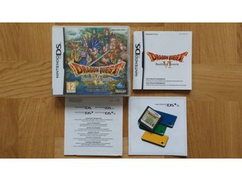 Nintendo DS: Dragon Quest VI 6 (svenskt/SWD)