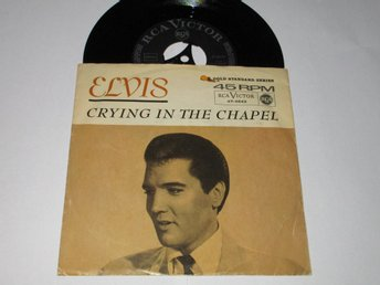 ELVIS PRESLEY SINGEL CRYING IN THE CHAPEL (GOLD STANDARD SERIES)