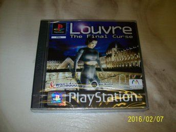 LOUVRE THE FINAL CURSE NYTT INPLASTAT (PS1)