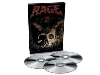 Rage -The devil strikes again EXCLUSIVE 3 disc !! set