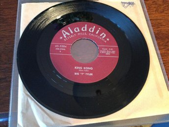 "Big `T`Tyler - King Kong / Sadie Green - 7"" single"