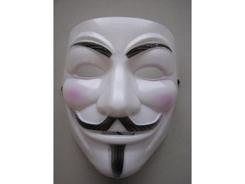 Anonymous Vendetta Mask  Mask Helloween Mask