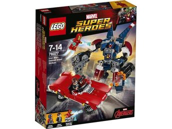 LEGO Super Heroes - Iron Man Detroit Steel anfaller 76077