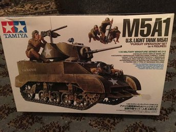Tamiya - M5A1 U.S. Light Tank.... 1:35
