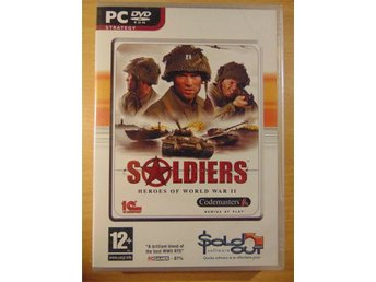 PC: Soldiers - Heroes of World War II (2) Nytt Inplastat