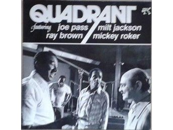 Quadrant Featuring  Pass, Jackson, Brown, Roker title* Quadrant Soul-Jazz UK LP