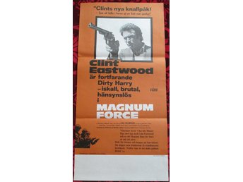 MAGNUM FORCE (Bioaffisch 30x65) Clint Eastwood, Dirty Harry