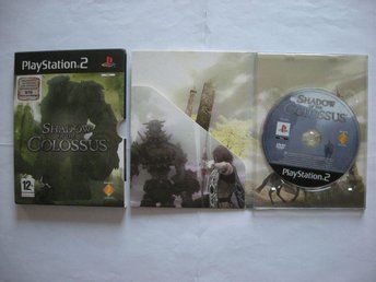 PS2 Shadow of the Colossus Fint skick!