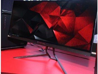 "Acer 34"" Predator X34 G-Sync IPS Curved spelskärm - Ronneby - Acer 34"" Predator X34 G-Sync IPS Curved spelskärm - Ronneby"