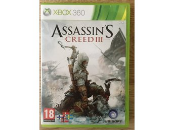 XBOX 360 SPEL ASSASSIN'S CREED ASSASSINS CREED III 3