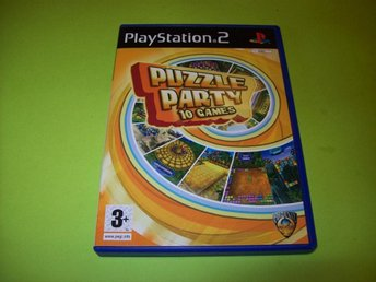 PUZZLE PARTY 10 GAMES - Komplett (PS2)