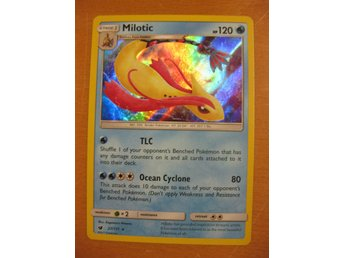 MILOTIC - 120 HP - RARE HOLO - POKEMON CRIMSON INVASION 27/111