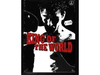 King Of The World, Miniserie 3 st DVD med Svensk text , Ny inplastad