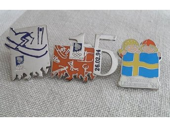Pins OL LILLEHAMMER 1994 olympiad Norge OS