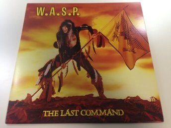 W.A.S.P. - The Last Command (S33-1001) Japanpressning LP (y)