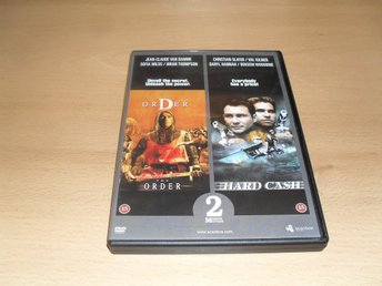 Dvd-filmer: The order (Jean-Claude Van Damme) + Hard cash (Christian Slater)