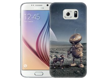 Samsung Galaxy S6 Skal Space Robots