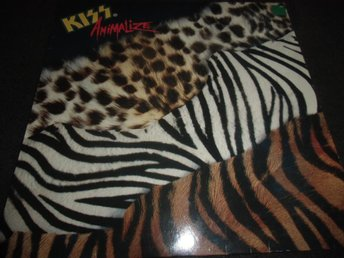 Kiss - Animalize - LP - 1984