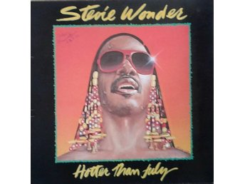 Stevie Wonder title* Hotter Than July* Soul, Funk, Disco LP Gatefold SWE