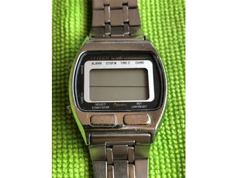 CITIZEN ST-3030 vintage digital klocka Japan