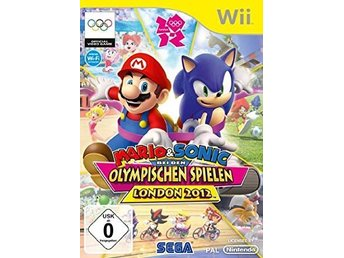 Mario & Sonic / Olympic games London 2012 - Wii