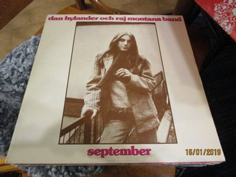DAN HYLANDER OCH RAJ MONTANA BAND - SEPTEMBER - LP