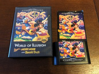 World Of Illusion - SMD - Sega Mega Drive