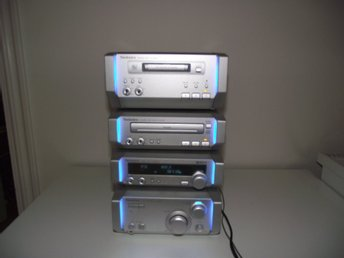 FIN TECHNICS AMPLIFIER SC-HD505MD+TUNER ST-HD505MD+CD SL-HD505+MINIDISK SJ-HD505