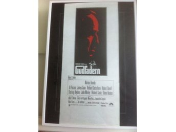 Gudfadern / The Godfather / Original Filmaffisch 1972 / Marlon Brando
